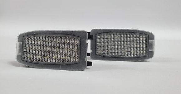 Discovery 3 Freelander 2 RRS Vouge L322 LED Under Mirror Puddle Light X2
