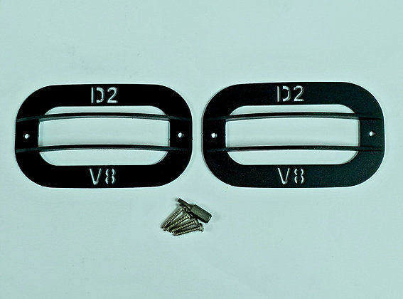 Side Marker Repeater Lamp Guards For Discovery 2V8