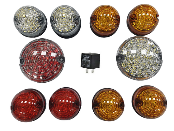 Defender 90 110 130 Deluxe Led Lamp Upgrade Kit (Coloured)