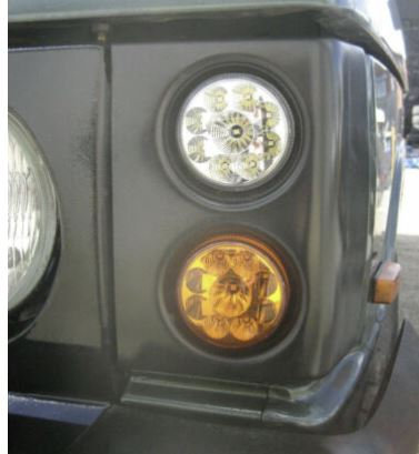Range Rover Classic Front Leds & Pods