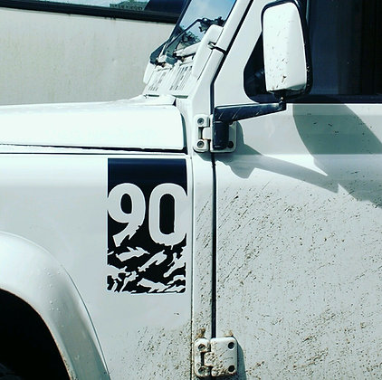 Defender Adventure Edition decal sticker (90)