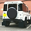 Thumbnail: Land Rover Defender 90 Puma 2.2 tdci Gloss black Mud Flap set *Textured Finish**