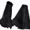 Thumbnail: Discovery 1/2 Automatic black leather Gaiter set x2