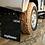 Thumbnail: Defender 110 130 Rear only mud flap set