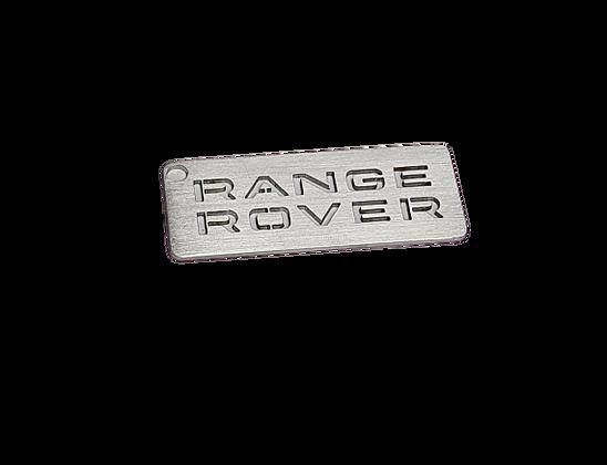 Range Rover Stainless Steel Keyring