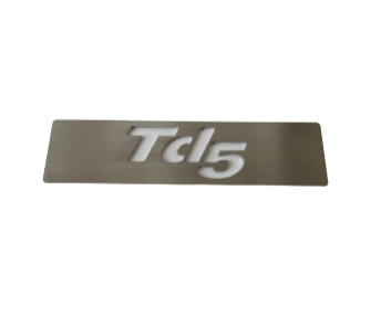 Defender TD5 Stainless steel Panel