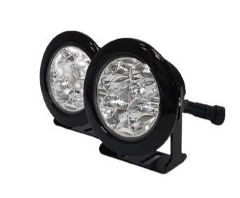 Defender 70mm Round DRL Led's (Clear Lens)