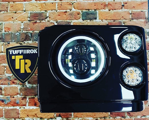 Discovery 1 LED Halo Headlights And Pods