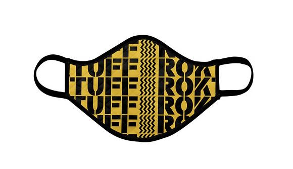 Tuff-Rok Logo Deluxe Face Mask