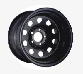 Modular 16x8 Negative 35 Offset Black Wheel