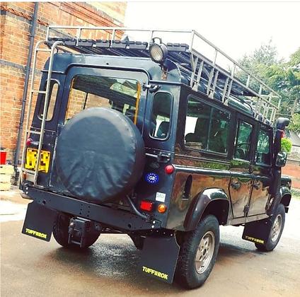 Defender 110 130  Full vehicle Mud Flap set
