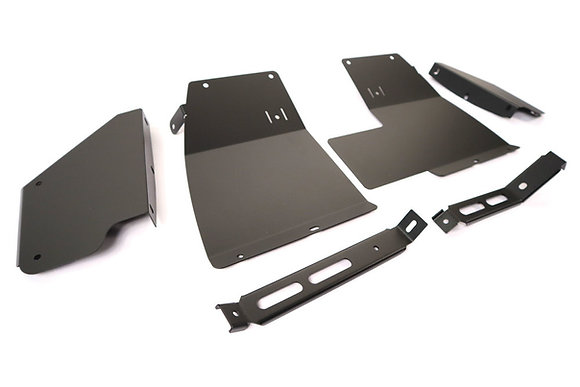 Discovery 2 Stainless Steel Mud Flap Brackets, Front And Rear