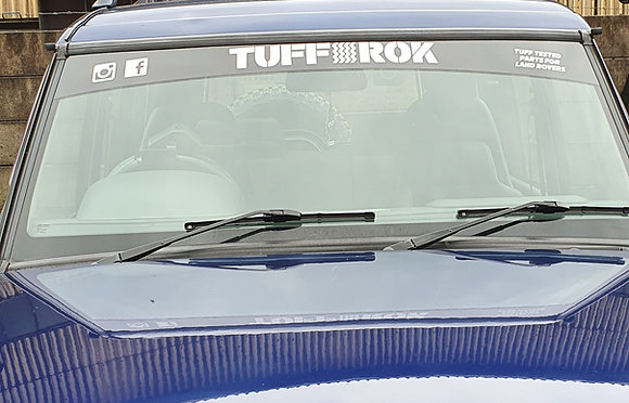 Tuff-rok Sunstrip/Screen Splitter (Silver)