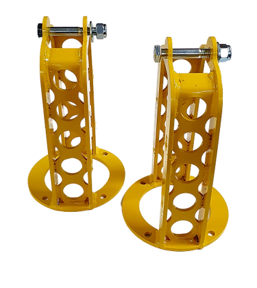 Discovery 2 Heavy Duty Shock Absorber Turrets (Pair) (Yellow)