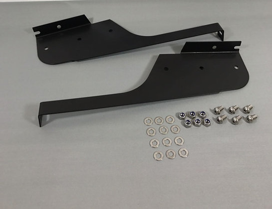 Defender 110 130 Mud Flap Brackets in 2mm Stainless Steel