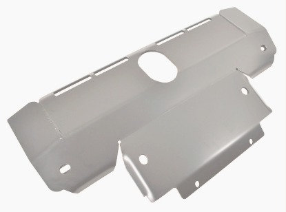 Discovery 3 Sump Guard 8mm Silver Aluminium