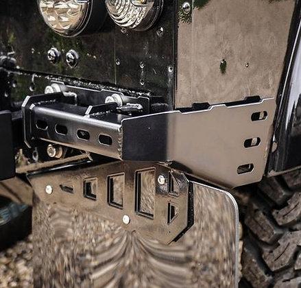 Defender Stainless Steel Rear Corner Bumperettes 90 & 110