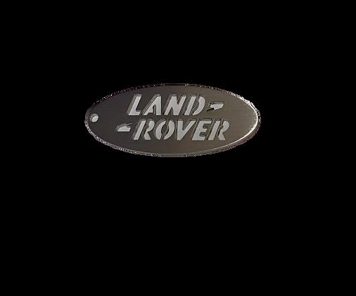 LR Stainless Steel Keyring