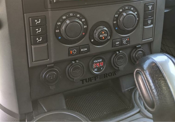 Discovery 3 Front power output panel upgrade