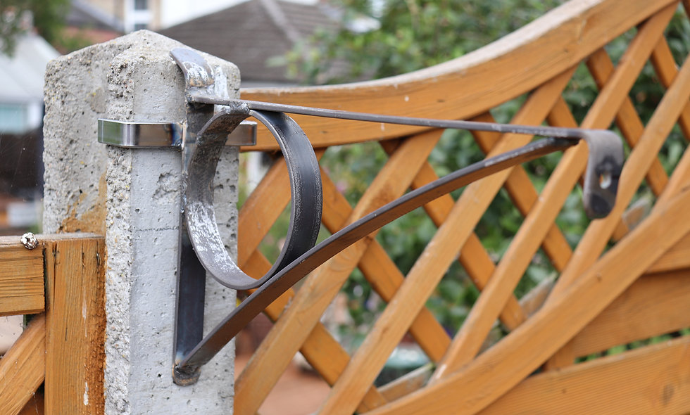 Concrete Post brackets
