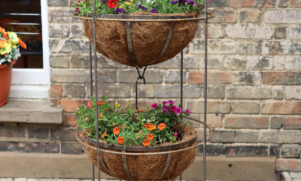 Hanging Basket and Stand