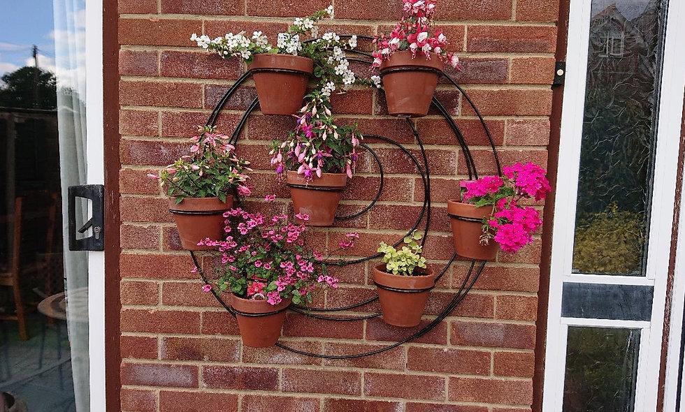 Spiral Wall Planter
