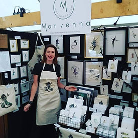 Morvenna | Morven Anne Robertson | Unique Edinburgh based Scottish artist