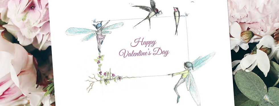 Happy Valentine's Day personalised card
