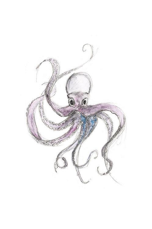 Giant Squid Print