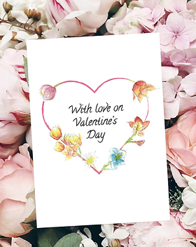 Happy Valentine's Day card by Morvenna