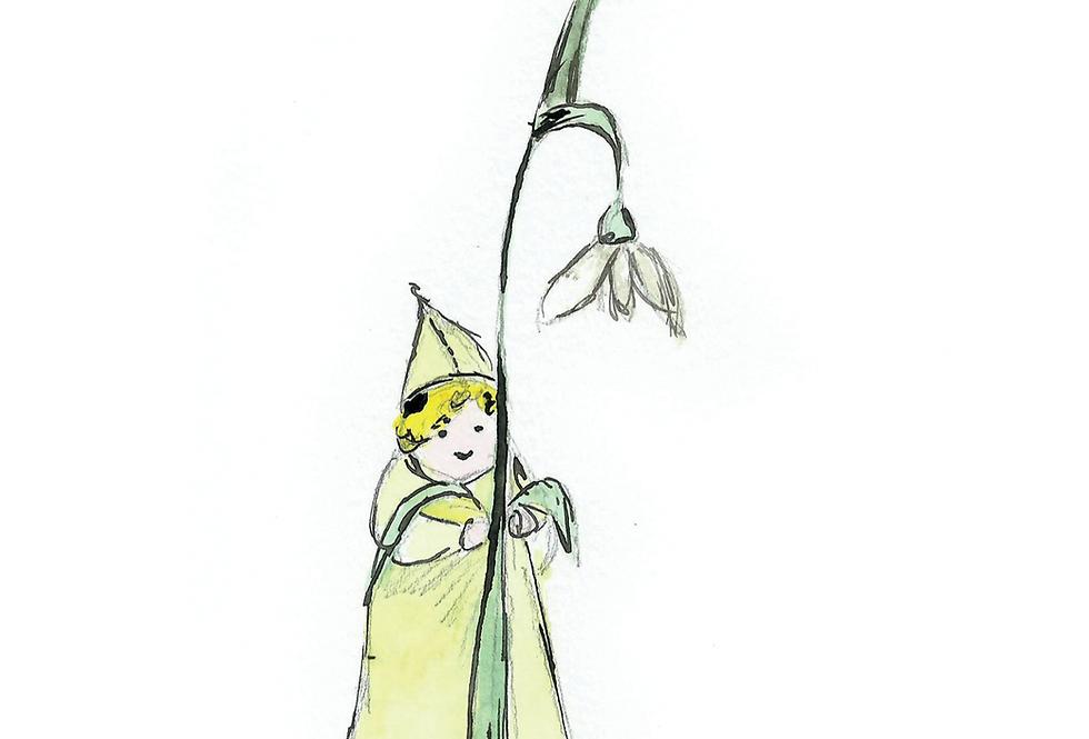 The Snowdrop Fairy card