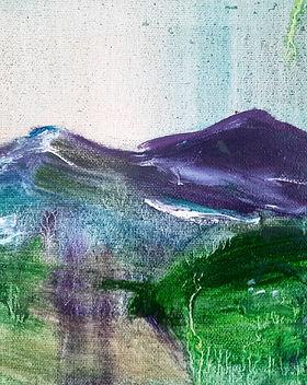 The Road to Home | Original Oil Painting by Morvenna | Edinburgh Artist