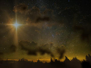 Jupiter and Saturn 'Great Conjunction' and the Winter Solstice
