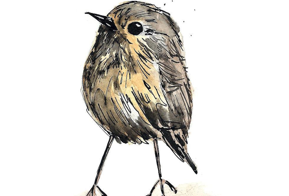 Wee Birdie Print