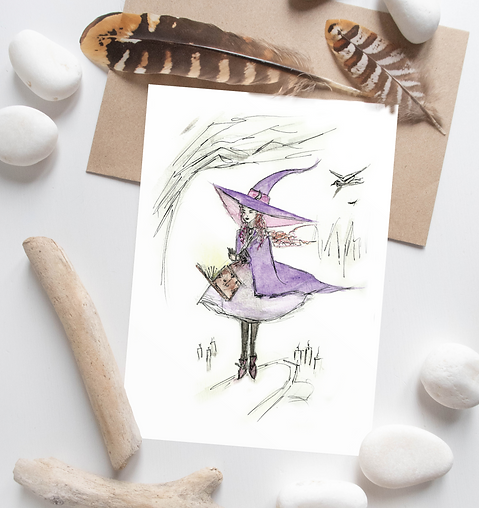 Spellbound | Halloween cards designed by Morvenna | Unique Scottish Artist