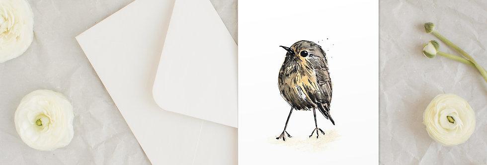'Wee birdie' card