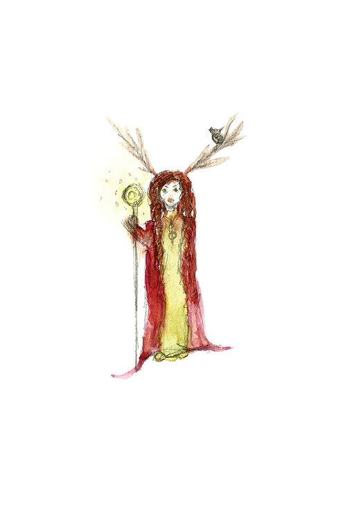 Druid Print