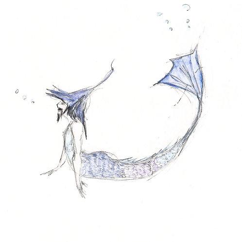 Merman card