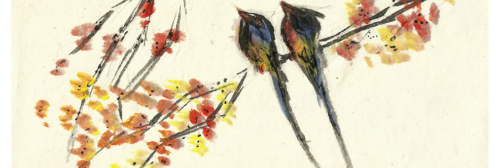 The Brightest of Birds Print
