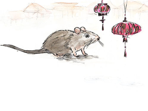 The Year of the Rat Print
