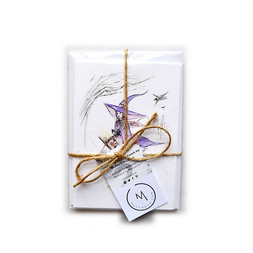 Five Witchy Greetings Cards Multipack