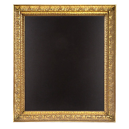 Large Ornate Gold Framed Chalkboard