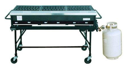 BBQ Grill 6-Burner with Stand