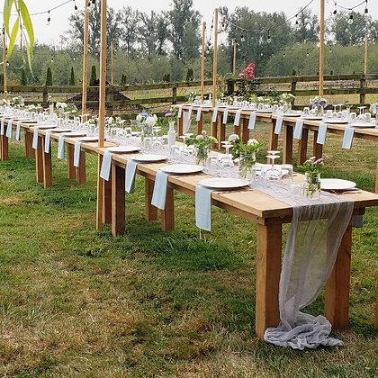 8 Foot Farm Table