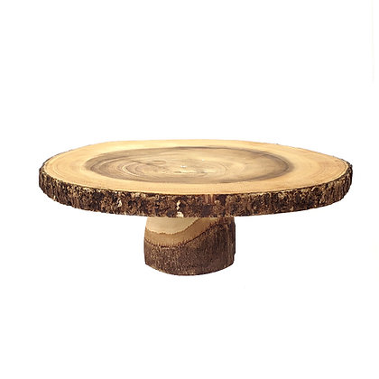 Wood Cake Stand #2 - 14.5""
