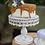 """Thumbnail: Vintage Metal Cake Stand 10"""""""