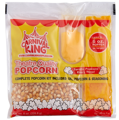 Popcorn Kit - 6 oz. [1 Count]