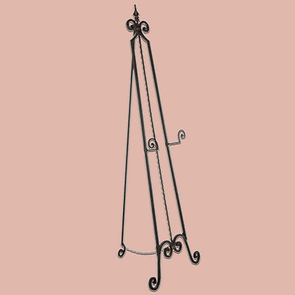 Floor-Standing Metal Easel