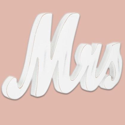 """""""MRS"""" Block Letter"""