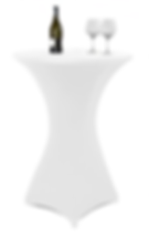 Cocktail Table Spandex White.png